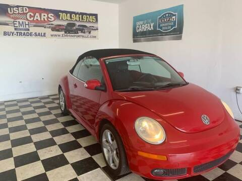 2007 Volkswagen New Beetle Convertible for sale at EMH Imports LLC in Monroe NC