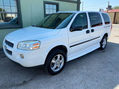 Chevrolet Uplander For Sale In Midland Tx Frontline Auto