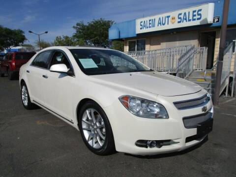 2010 Chevrolet Malibu for sale at Salem Auto Sales in Sacramento CA