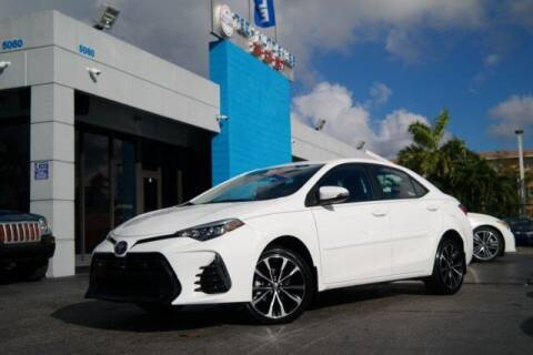 2018 Toyota Corolla for sale at Tech Auto Sales in Hialeah FL