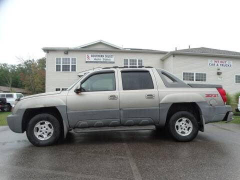 2002 Chevrolet Avalanche for sale at SOUTHERN SELECT AUTO SALES in Medina OH