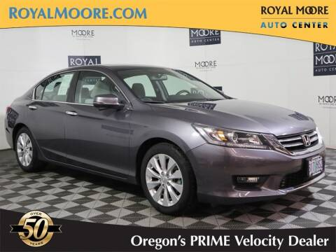 2015 Honda Accord for sale at Royal Moore Custom Finance in Hillsboro OR