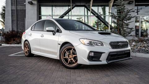 2018 Subaru WRX for sale at MUSCLE MOTORS AUTO SALES INC in Reno NV