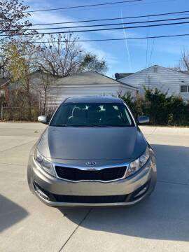 2013 Kia Optima for sale at Suburban Auto Sales LLC in Madison Heights MI