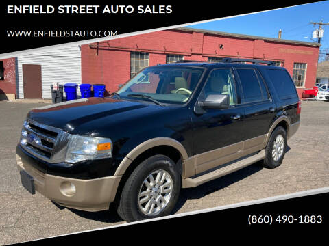 2011 Ford Expedition for sale at ENFIELD STREET AUTO SALES in Enfield CT