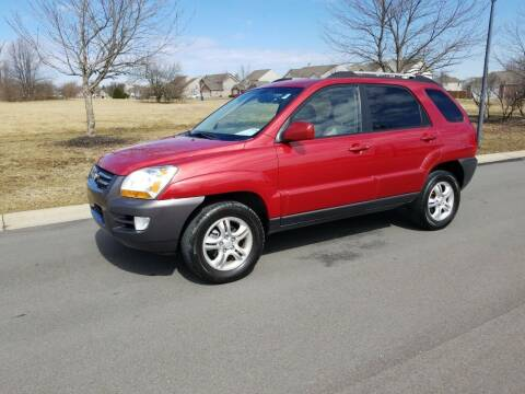 2007 Kia Sportage for sale at CALDERONE CAR & TRUCK in Whiteland IN