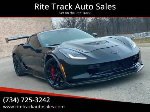 2019 Chevrolet Corvette for sale at Rite Track Auto Sales in Canton MI