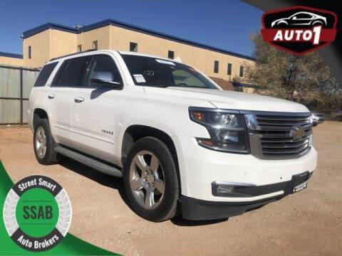 2015 Chevrolet Tahoe for sale at Street Smart Auto Brokers in Colorado Springs CO