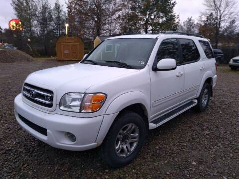 2004 Toyota Sequoia for sale at Seneca Motors, Inc. (Seneca PA) in Seneca PA
