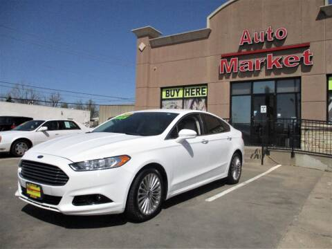 2016 Ford Fusion for sale at Auto Market in Oklahoma City OK