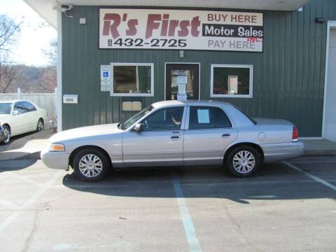 2004 Ford Crown Victoria for sale at R's First Motor Sales Inc in Cambridge OH