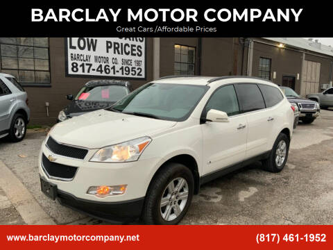 2011 Chevrolet Traverse for sale at BARCLAY MOTOR COMPANY in Arlington TX