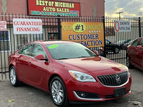 2014 Buick Regal for sale at Best of Michigan Auto Sales in Detroit MI