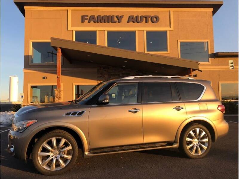 2013 Infiniti QX56 for sale at Moses Lake Family Auto Center in Moses Lake WA