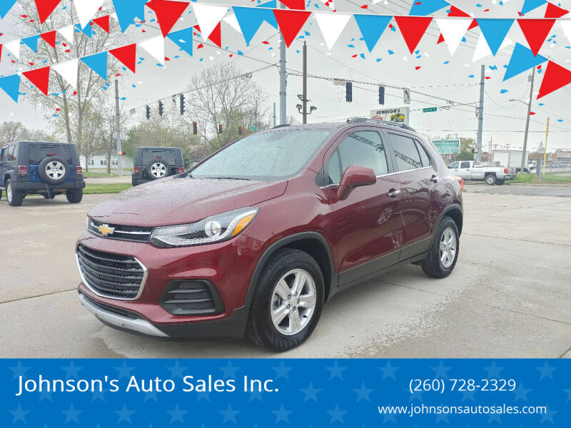 2017 Chevrolet Trax for sale at Johnson's Auto Sales Inc. in Decatur IN