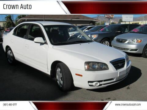 2005 Hyundai Elantra for sale at Crown Auto in South Salt Lake City UT