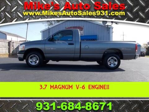 2006 Dodge Ram Pickup 1500 for sale at Mike's Auto Sales in Shelbyville TN