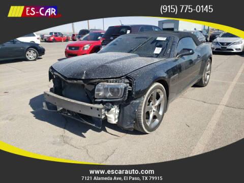 2013 Chevrolet Camaro for sale at Escar Auto in El Paso TX