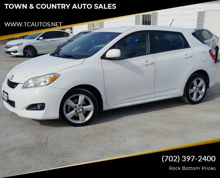 2010 Toyota Matrix for sale at TOWN & COUNTRY AUTO SALES in Overton NV