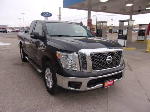 2017 Nissan Titan for sale at Rocky Mountain Commercial Trucks in Casper WY