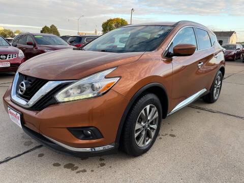 2016 Nissan Murano for sale at De Anda Auto Sales in South Sioux City NE