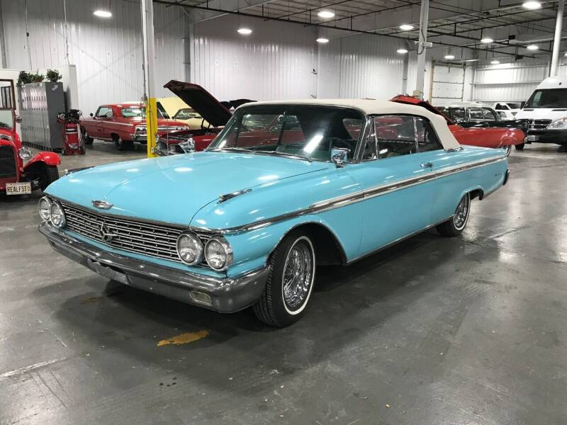 1962 Ford Galaxie Convertible for sale at STUDIO HOTRODS in Richmond IL