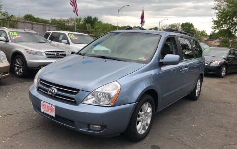 2007 Kia Sedona for sale at Riverside Wholesalers 2 in Paterson NJ