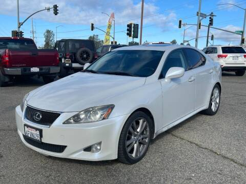 2006 Lexus IS 250 for sale at Deruelle's Auto Sales in Shingle Springs CA