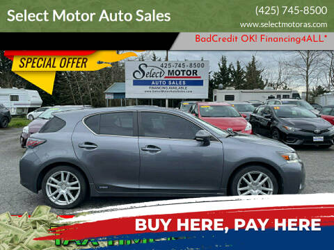 2013 Lexus CT 200h for sale at Select Motor Auto Sales in Lynnwood WA