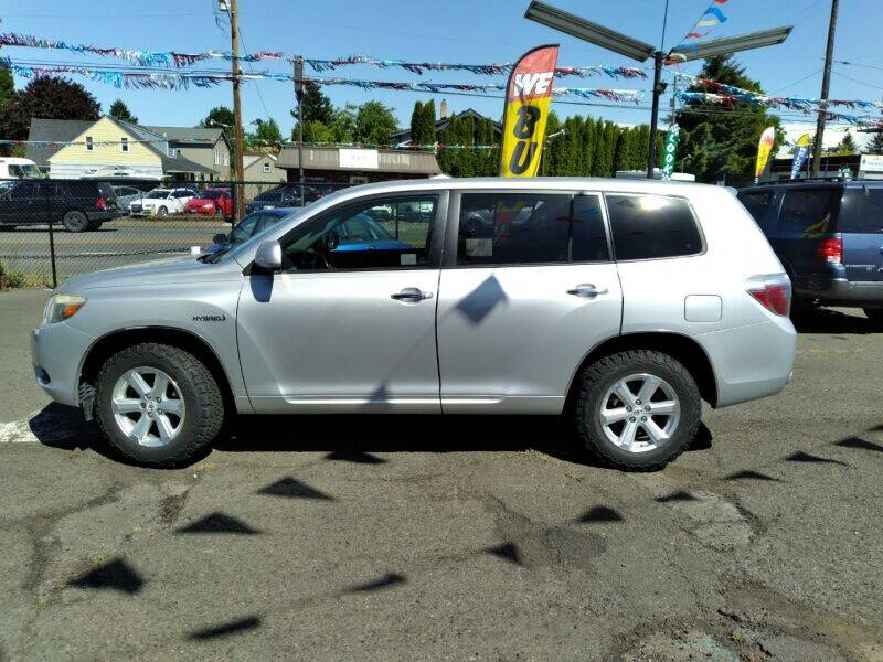 2008 Toyota Highlander Hybrid for sale at Cars & Trailers in Portland OR