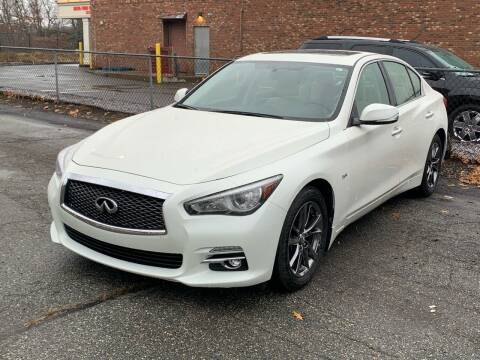 2017 Infiniti Q50 for sale at Ludlow Auto Sales in Ludlow MA