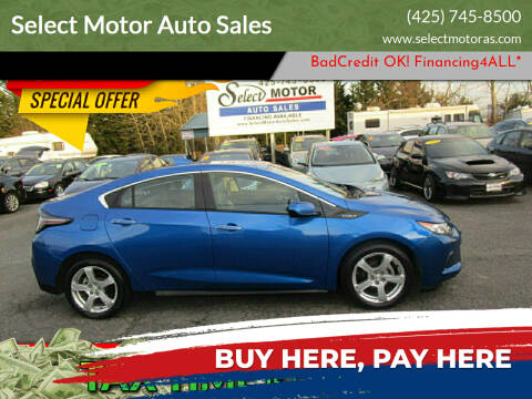 2017 Chevrolet Volt for sale at Select Motor Auto Sales in Lynnwood WA