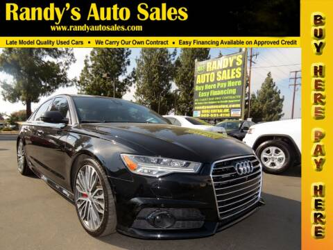 2017 Audi A6 for sale at Randy's Auto Sales in Ontario CA