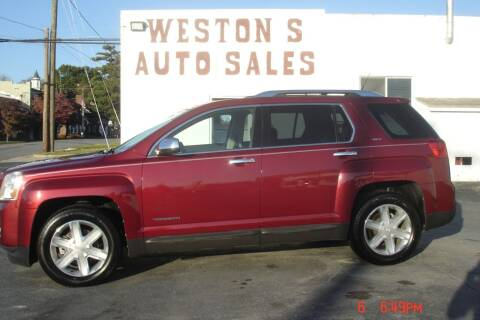2011 GMC Terrain for sale at Weston's Auto Sales, Inc in Crewe VA
