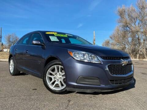 2014 Chevrolet Malibu for sale at UNITED Automotive in Denver CO