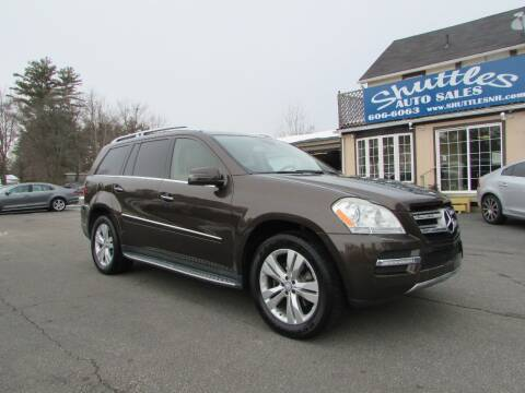 2012 Mercedes-Benz GL-Class for sale at Shuttles Auto Sales LLC in Hooksett NH