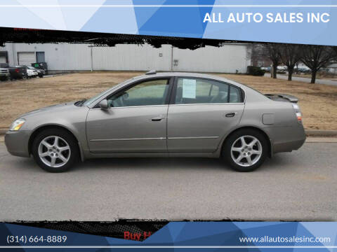 2003 Nissan Altima for sale at ALL Auto Sales Inc in Saint Louis MO