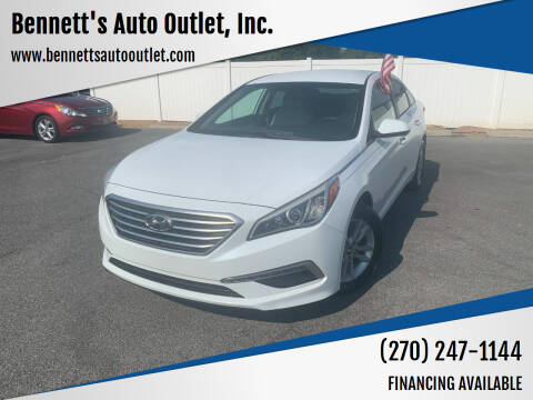 2015 Hyundai Sonata for sale at Bennett's Auto Outlet, Inc. in Mayfield KY