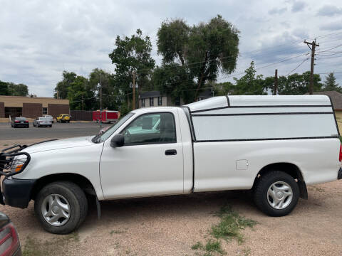 2006 Toyota Tundra for sale at PYRAMID MOTORS AUTO SALES in Florence CO