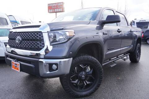 2020 Toyota Tundra for sale at Frontier Auto & RV Sales in Anchorage AK