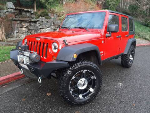 2010 Jeep Wrangler Unlimited for sale at Mudarri Motorsports - Championship Motors in Redmond WA
