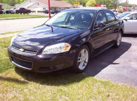 2009 Chevrolet Impala for sale at LAKESIDE MOTORS LLC in Houghton Lake MI