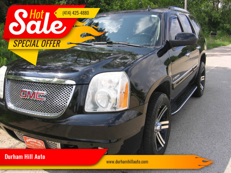 2008 GMC Yukon for sale at Durham Hill Auto in Muskego WI