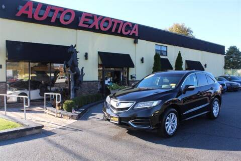 2016 Acura RDX for sale at Auto Exotica in Red Bank NJ
