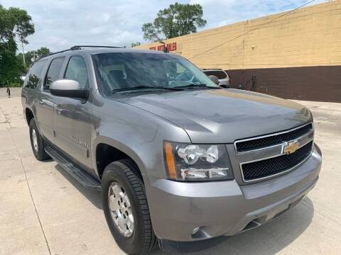 2009 Chevrolet Suburban for sale at City Auto Sales in Roseville MI