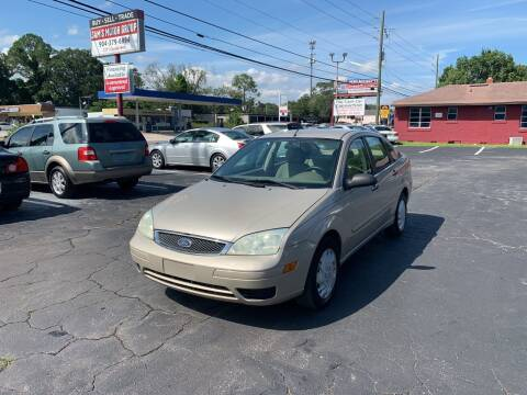 2007 Ford Focus for sale at Sam's Motor Group in Jacksonville FL