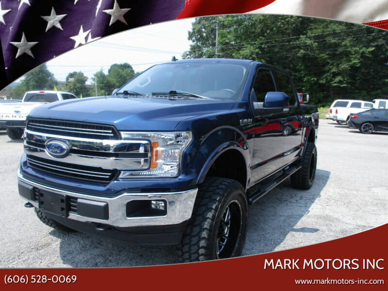 2019 Ford F-150 for sale at Mark Motors Inc in Gray KY