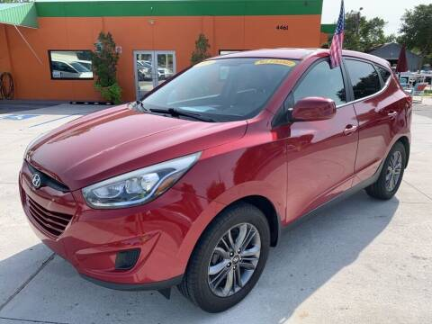 2015 Hyundai Tucson for sale at Galaxy Auto Service, Inc. in Orlando FL