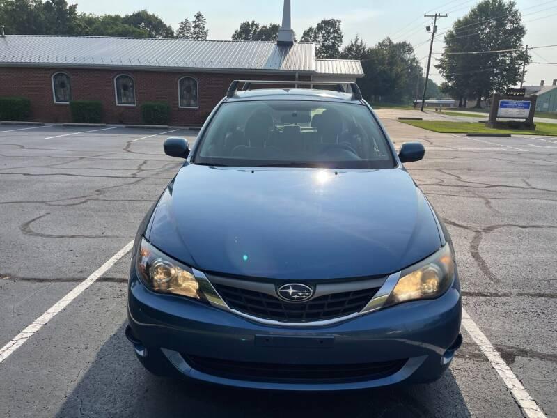 2009 Subaru Impreza for sale at SHAN MOTORS, INC. in Thomasville NC