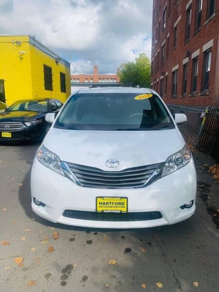 2014 Toyota Sienna for sale at Hartford Auto Center in Hartford CT